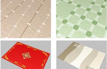 Dosch紋理 - 地毯貼圖素材 Dosch Textures - CARPETS