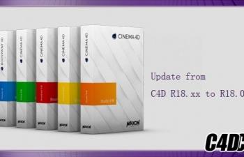 C4D R18.039软件更新