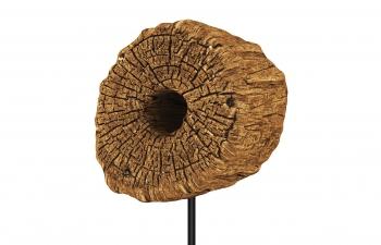 C4D模型 木头树干雕塑文艺摆件艺术模型