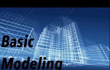 C4D教程 建筑线描效果制作教程 Basic Building Structure Cinema 4d