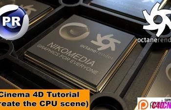 NIKO教程:CPU模型制作&渲染(OC)