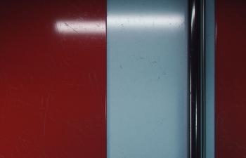 Octane渲染器墙边管道地下室灯光环境渲染工程文件
