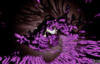 C4D教程 巧妙使用运动挤压做科幻生长动画