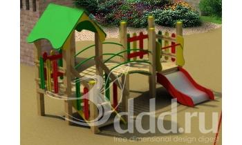 3D模型13儿童滑梯