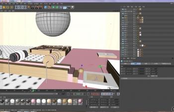 C4D栏目包装卡通片头动画工程