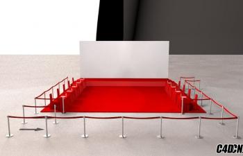 C4D模型 舞台设计