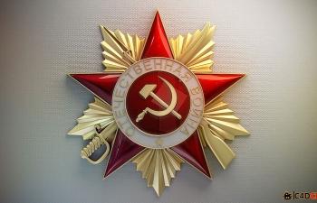 俄国作战勋章模型