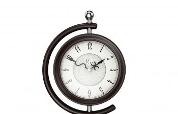 C4D模型 地球儀造型可旋轉鐘表時鐘模型