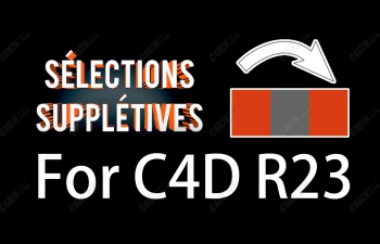 C4DR23间隔选择插件vonc_selsu多种选择点线面辅助插件Selections Suppletives for R23