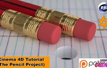 NIKO教程:铅笔特写(OC渲染)