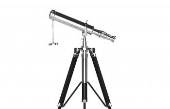 C4D模型 天文望远镜模型