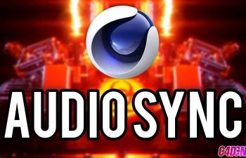 C4D教程 运动图形声音效果器案例教程