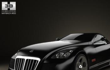 世界唯一一輛邁巴赫奢華跑車邁巴赫Exelero