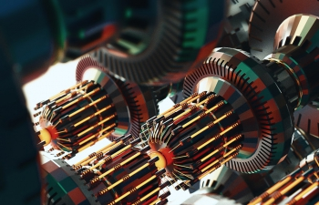 C4D精品工程 No.404 机械引擎旋转齿轮
