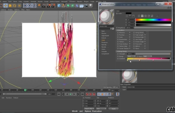C4D教程 运动图形综合案例学习教程2.0版本