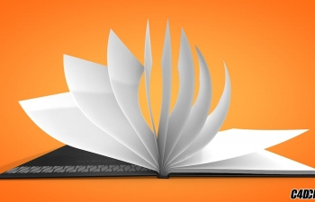 C4D真实翻书脚本预设汉化版 Real Book V.2.2.1