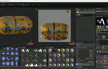 C4D教程-UV贴图展开入门教学视频
