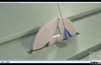 CINEMA 4D教程——同步摆穿越动画(xpresso)
