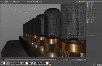 C4D模型 灯泡 OCTANE渲染器