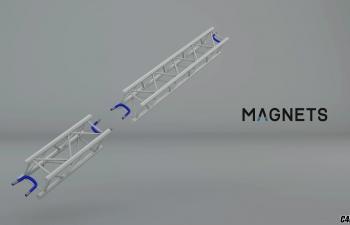 C4D插件-吸附增强插件 Hantmade Magnets v1.26汉化版