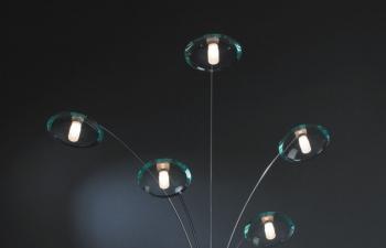 3D模型 现代装饰灯模型 MD61711-5B