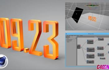 Udemy多案例Xpresso节点表达式进阶C4D教程(含工程文件)
