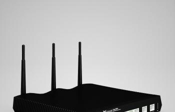 2款宽带网络数码路由器C4D模型