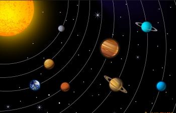 C4D太阳系运动简单模拟