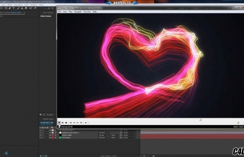 AE教程:使用 Particular 粒子插件制作路径动画 Motion Path in Trapcode Particular