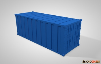 C4D集装箱模型 Container Model