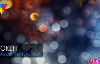灯光污垢污渍贴图纹理包素材 Bokeh – Lens Dirt Texture Pack