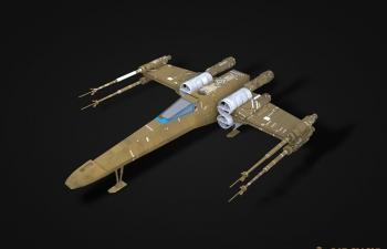 星球大战战机模型star wars x-wing