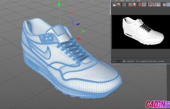 NIKE airmax鞋模型