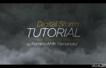 AE教程-数字风暴教程