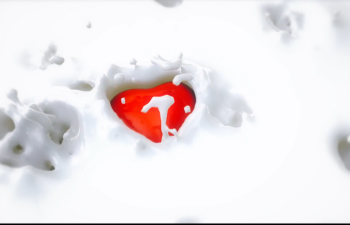 CINEMA 4D教程—— Realflow牛奶飞溅动画