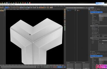 C4D教程-模拟一个漂亮的模式