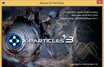 X-Particles v3.0 Demo中文试用版