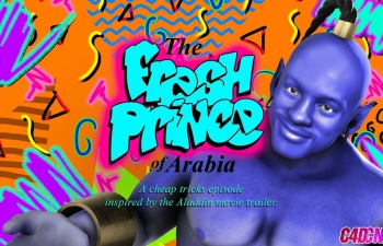 C4D教程 阿拉丁神灯人物角色动画合成教程 Fresh Prince of Arabia, Che