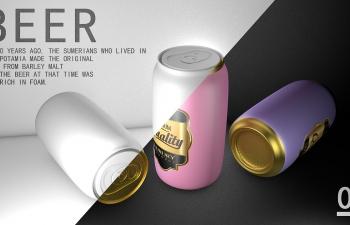 BEER/啤酒罐建模