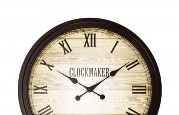 C4D模型 圓形鐘表墻壁掛鐘時鐘模型