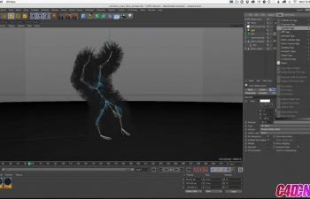 GSG325.Cinema 4D教程 - 将头发添加到动画角色C4D教程