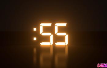 C4D教程:XPresso表达式数字倒计时的制作