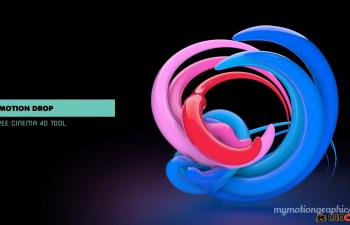 运动光线脚本预设汉化版含教程Motion Drop