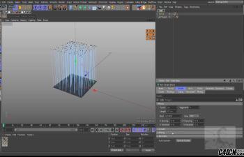 CINEMA 4D教程——毛发系统使用讲解