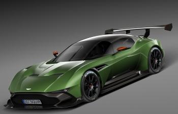 阿斯顿马丁Vulcan 2016火神超级跑车赛道日跑车汽车模型
