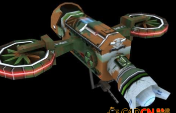 Spacecraft 航天器游戏低模