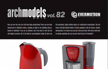C4D模型 Evermotion(家用小电器模型)第82辑