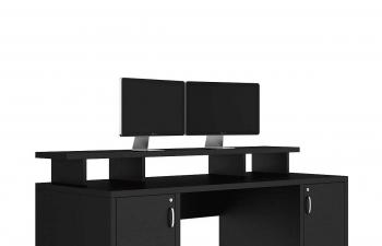 C4D模型 现代家具办公室电脑桌显示器屏幕模型