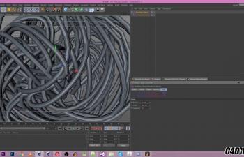 C4D插件 可以做出缠绕效果的插件汉化版 绳子绳索 NeoRope