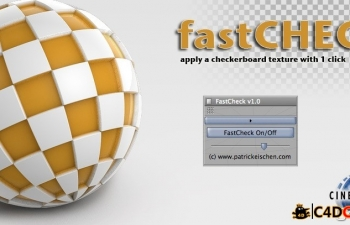 [R9-R16 PC+MAC]快速UV纹理检查插件汉化版FastCheck